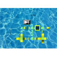 Buy cheap Custom Inflatable Floating Water Park Stable PVC 0.9mm Tarpaulin Material from wholesalers