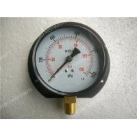 "Buy cheap Steel Black Bottom Entry Dry Pressure Gauge with Flange 4"" ( 100mm ) product"