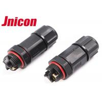 Buy cheap Screw Terminal Aviation Waterproof Wire Connectors , Cable To Cable Circle Wire Connector product