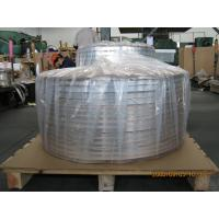 Buy cheap Thick Aluminum Strips , Sheet Metal Strips For Cable Shielding And Armor Jacket product