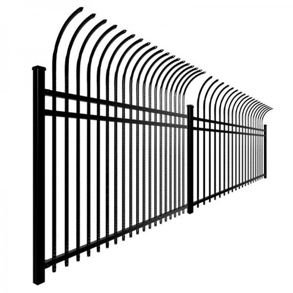 2.1m*2.4m Spear Tubular Garrison Australia Steel Fence