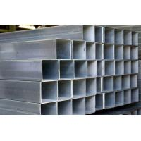 Buy cheap Q195 / Q235 Galvanized Steel Square Tubing , ASTM A53 Hollow Section Square Steel Tube product