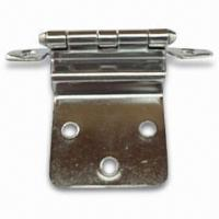 China 3/8-inch Inset Cabinet Hinge, Different Finishes are Available on sale
