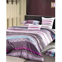 Buy quality Reactive Printed Floral Bedding Sets Twill Cotton With High Thread Count at wholesale prices