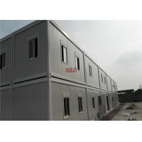 China Portable Expandable Mobile Office Containers With Eletricity And Office Shelves on sale