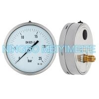 Buy cheap Shockproof Hydraulic Pressure Gauge Back Lower Connector With Fillable Glycerin product