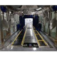 China Automatic car wash machine with nine brushes/Automated tunnel car washing machine for car detailing shop on sale