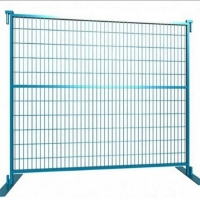 Buy cheap Construction Site 6'X9.5' Galvanized Canada Temporary Fence product