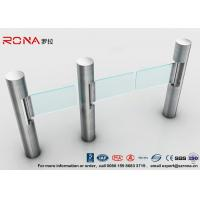 Buy cheap Intelligent Automatic Swing Barrier Gate With Aluminum Alloy Mechanism with people counting systems product