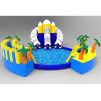 Buy cheap Fun Inflatable Amusement Park Professional Easy Package Anti UV  For Toddlers product