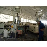 Buy cheap Big Dia HDPE Solid Pipe Production Line , Plastic Pipe Production Line PLC Automatic product