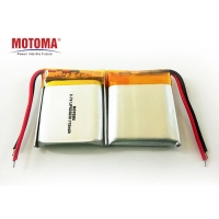 Buy cheap Low Temperature Wearable Device Battery 3.7V 710mah High Voltage product