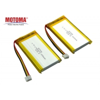 Buy cheap Motoma UL1642 Approved Lithium Lipo Battery 3.7 V 2800mah For Detector product