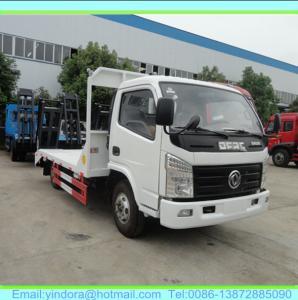 China dfac mini flat transport truck on sale