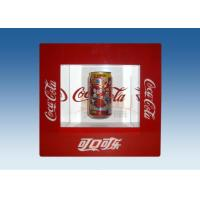 Buy cheap Window Shape Red Acrylic Levitation Floating Display With Silk Screen Printing product