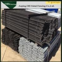 Buy cheap Steel Star Pickets Y Post With Hot Dip Galvanized / Bituminous Painted Surface product