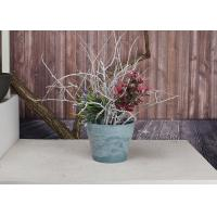 Buy cheap Decorativer Recycled Durable Round Plant Pots Durable for Green Plant from wholesalers