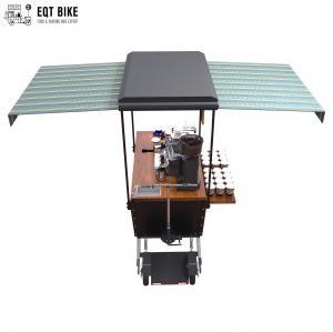 Buy cheap 350w Food Van Vending Coffee Bike Cart Metal Frame product