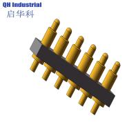 Buy cheap 6Pin Argentina Mp4 Mp5 Connector spring loaded pin Magnetic Connector Magnetic spring loaded pin Charger product