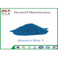 Buy cheap High Purity Textile Reactive Dyes Reactive Brill Blue K-GR C I Reactive Blue 5 product