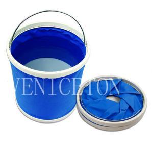 Buy cheap 9L 11L 13L folding water bucket,fishing bucket,foldaway bucket product