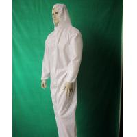 Buy cheap Waterproof Long Sleeves PP Isolation Gown Flame Resistant Environment Friendly product