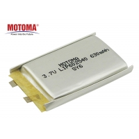 Buy cheap 630mAh Rechargeable Lithium Ion Battery With BIS UN KC Certificate product