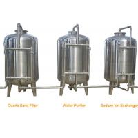 Buy cheap Stainless Steel RO Industrial Water Treatment Machine for Water Filling Line product