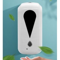 Buy cheap 1200ml White Touchless Liquid Induction Soap Dispenser Case product