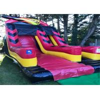 Buy cheap Small Size Bouncy Water Slide Unique Fast Speed Smooth Surface For Kids Toddlers product