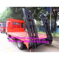 China ZZ1047F3315E145 HOWO 4x2 Flat Bed Truck For Machinery Transportation on sale