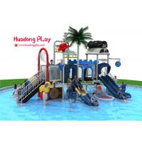 Buy cheap Adventurous Water Park Playground Equipment , Attractive Water Park Slide  820*530*410cm product