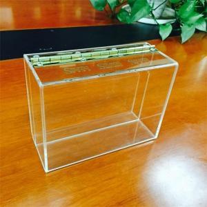 Manufacturing customized acrylic display box acrylic box
