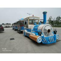 Buy cheap Square Safety Tourist Train Rides Kids Party Train 380V Customize Color from wholesalers