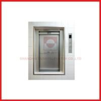 China Load 100-300kg Industrial Freight Lift Elevator Open Sliding Door Flexible With Car Design on sale