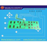 Buy cheap Super Slim Flexible LED Backlit Membrane Switch With Tactile Push Keypad product