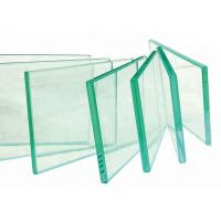 Buy cheap 2~22mm Custom Tempered Glass , Decorative Toughened Glass With Smooth / Flat Surface product
