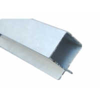 Buy cheap Suspended Baffle Ceiling Keel Aluminum Curtain Wall Profile product