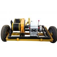 Buy cheap Safe And Reliable Gas Engine Powered Winch With Trailer Can Match Honda product