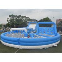 Buy cheap Outdoor Inflatable Fun 5K Race Equipment Soft High Safety Easy Assemble Fireproof product