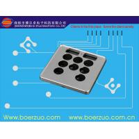 Waterproof Texture Push Button Membrane Switch Keypad With 3M9448 Adhesive