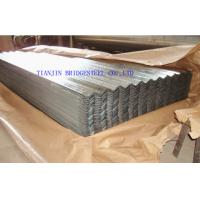 Buy cheap Zinc Coated Galvanized Corrugated Steel Sheet For Roofing , 0.14mm – 1.2mm Thickness product
