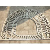 Buy cheap Customized  Cast Iron Sand Casting Metal Tree Grating from wholesalers