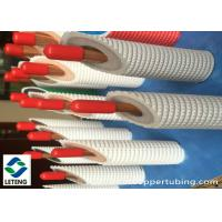 Buy cheap 15mm Outside Dia Thick Copper Pipe, 275 Mpa Ultimate Strength Refrigerator Copper Tubing product