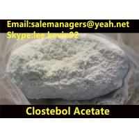 Buy cheap 99% Purity Clostebol Acetate Turinabol CAS 855-19-6 For Building Muscle product