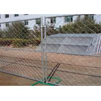 Buy cheap Professional Temporary Chain Link Fence Galvanized Wire ISO9001 CE Listed product
