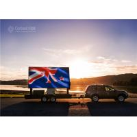 China Outdoor Full Color Mobile Truck Mounted LED Display P6 Advertising Billboard on sale