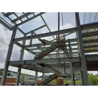 Buy cheap Q355B Steel Structure Frame For High Steel Builidings product