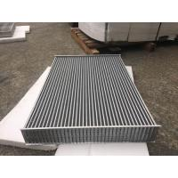 Buy cheap Aluminum tube fin air to air Heat Exchanger Core for heavy duty charge air coolers product