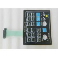 Buy cheap Customized Touch tactile Membrane Switch Keypad With 3m Adhesive product